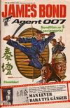 Cover for James Bond (Semic, 1965 series) #66/[1980]