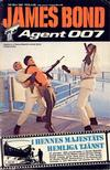 Cover for James Bond (Semic, 1965 series) #69/1981