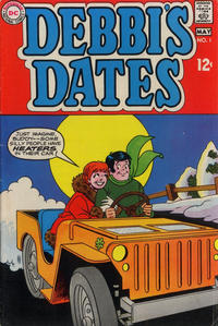 Cover Thumbnail for Debbi's Dates (DC, 1969 series) #1