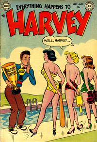 Cover Thumbnail for Everything Happens to Harvey (DC, 1953 series) #1