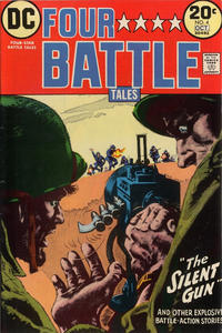 Cover Thumbnail for Four-Star Battle Tales (DC, 1973 series) #4