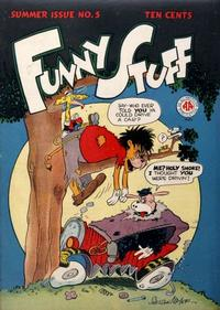 Cover Thumbnail for Funny Stuff (DC, 1944 series) #5