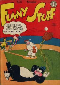 Cover Thumbnail for Funny Stuff (DC, 1944 series) #15
