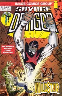 Cover Thumbnail for Savage Dragon (Image, 1993 series) #77 [Larsen Cover]