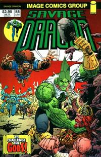 Cover for Savage Dragon (Image, 1993 series) #88