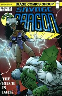 Cover Thumbnail for Savage Dragon (Image, 1993 series) #91