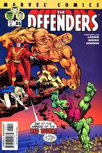Cover Thumbnail for Defenders (Marvel, 2001 series) #6