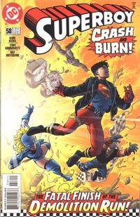 Cover Thumbnail for Superboy (DC, 1994 series) #58 [Direct Sales]