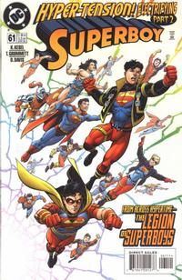 Cover for Superboy (DC, 1994 series) #61 [Direct Sales]