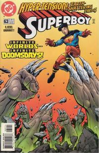 Cover Thumbnail for Superboy (DC, 1994 series) #63 [Direct Sales]