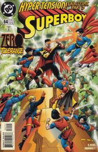 Cover Thumbnail for Superboy (DC, 1994 series) #64 [Direct Sales]