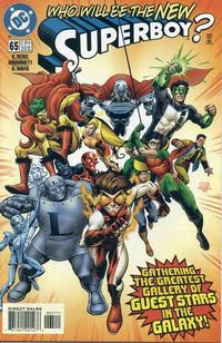 Cover Thumbnail for Superboy (DC, 1994 series) #65 [Direct Sales]