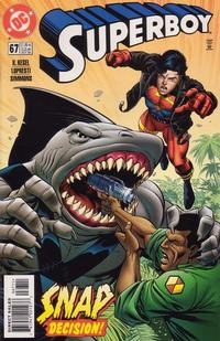 Cover Thumbnail for Superboy (DC, 1994 series) #67 [Direct Sales]