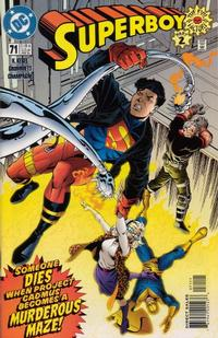 Cover Thumbnail for Superboy (DC, 1994 series) #71 [Direct Sales]