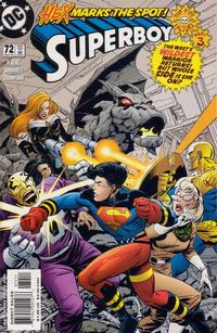 Cover Thumbnail for Superboy (DC, 1994 series) #72 [Direct Sales]