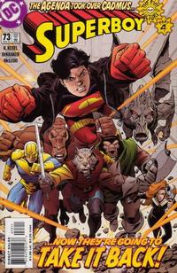 Cover Thumbnail for Superboy (DC, 1994 series) #73 [Direct Sales]