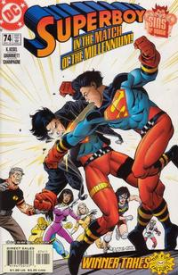 Cover Thumbnail for Superboy (DC, 1994 series) #74 [Direct Sales]
