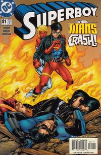 Cover Thumbnail for Superboy (DC, 1994 series) #81 [Direct Sales]