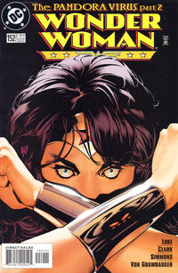 Cover for Wonder Woman (DC, 1987 series) #152