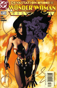 Cover for Wonder Woman (DC, 1987 series) #157