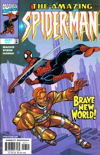 Cover Thumbnail for The Amazing Spider-Man (Marvel, 1999 series) #7 [Direct Edition]