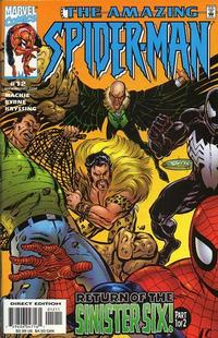 Cover Thumbnail for The Amazing Spider-Man (Marvel, 1999 series) #12 [Direct Edition]