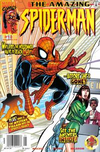 Cover Thumbnail for The Amazing Spider-Man (Marvel, 1999 series) #13 [Newsstand Edition]