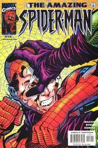 Cover Thumbnail for The Amazing Spider-Man (Marvel, 1999 series) #18 [Direct Edition]