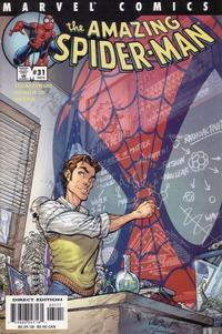 Cover Thumbnail for The Amazing Spider-Man (Marvel, 1999 series) #31 (472) [Direct Edition]