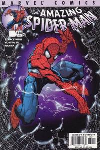 Cover Thumbnail for The Amazing Spider-Man (Marvel, 1999 series) #34 (475) [Direct Edition]