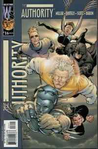 Cover Thumbnail for The Authority (DC, 1999 series) #16