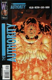 Cover Thumbnail for The Authority (DC, 1999 series) #18