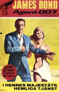 Cover Thumbnail for James Bond (Semic, 1965 series) #3/1967