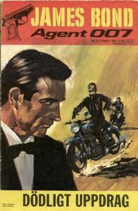Cover Thumbnail for James Bond (Semic, 1965 series) #5/1968