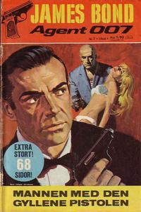 Cover Thumbnail for James Bond (Semic, 1965 series) #7/1968