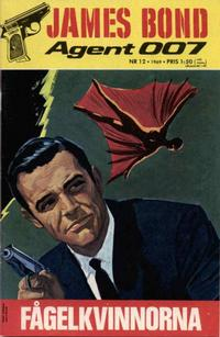 Cover Thumbnail for James Bond (Semic, 1965 series) #12/1969