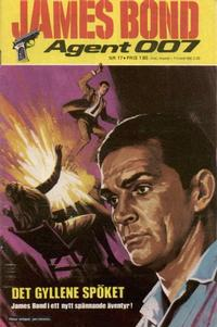 Cover Thumbnail for James Bond (Semic, 1965 series) #17/[1971]