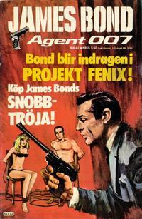 Cover Thumbnail for James Bond (Semic, 1965 series) #42/[1976]