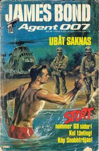 Cover Thumbnail for James Bond (Semic, 1965 series) #45/[1977]