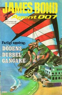 Cover Thumbnail for James Bond (Semic, 1965 series) #53/[1978]