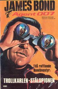 Cover Thumbnail for James Bond (Semic, 1965 series) #54/[1978]