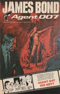 Cover for James Bond (Semic, 1965 series) #62/[1980]