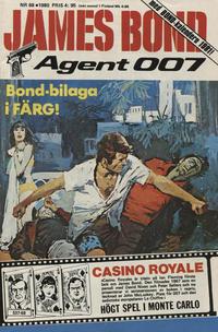 Cover Thumbnail for James Bond (Semic, 1965 series) #68/1980