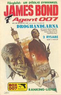 Cover Thumbnail for James Bond (Semic, 1965 series) #2/1982