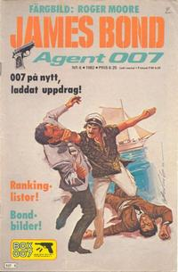 Cover Thumbnail for James Bond (Semic, 1965 series) #6/1982