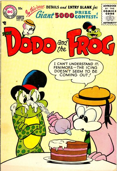 Cover for The Dodo and the Frog (DC, 1954 series) #89