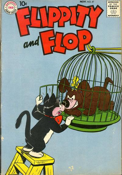 Cover for Flippity & Flop (DC, 1951 series) #47