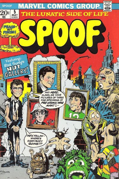 Cover for Spoof (Marvel, 1970 series) #5
