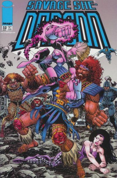 Cover for Savage Dragon (Image, 1993 series) #52