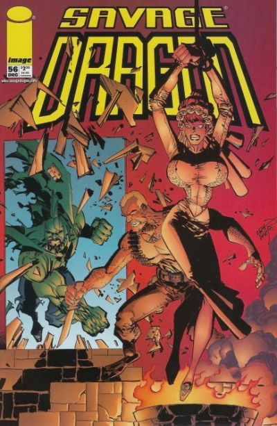 Cover for Savage Dragon (Image, 1993 series) #56